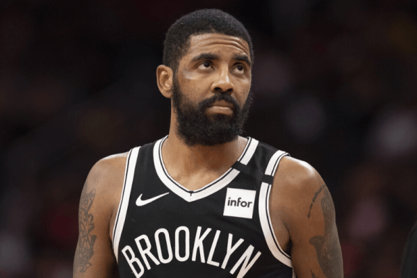 Feb 1, 2020; Washington, District of Columbia, USA; Brooklyn Nets guard Kyrie Irving (11) during the second half against the Washington Wizards at Capital One Arena.