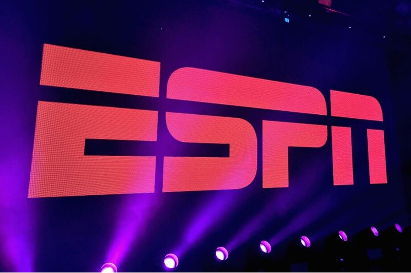 SAN FRANCISCO, CA - FEBRUARY 05: A view of the logo during ESPN The Party on February 5, 2016 in San Francisco, California