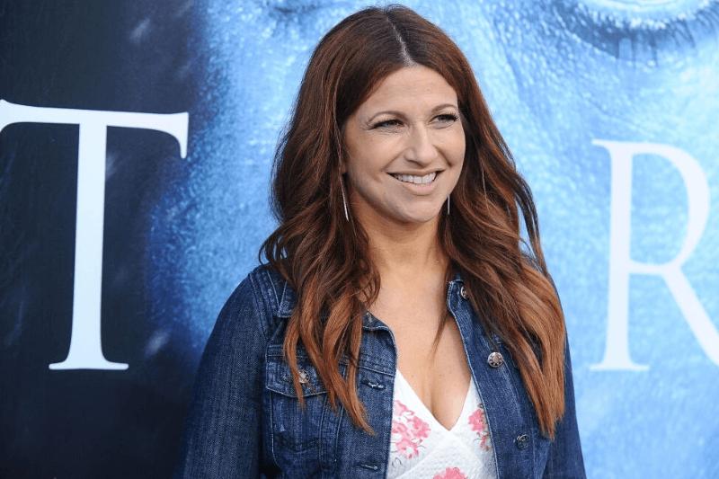 "LOS ANGELES, CA - JULY 12: Journalist Rachel Nichols attends the season 7 premiere of ""Game Of Thrones"" at Walt Disney Concert Hall on July 12, 2017 in Los Angeles, California."