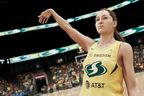 WNBA Player Jump Shot