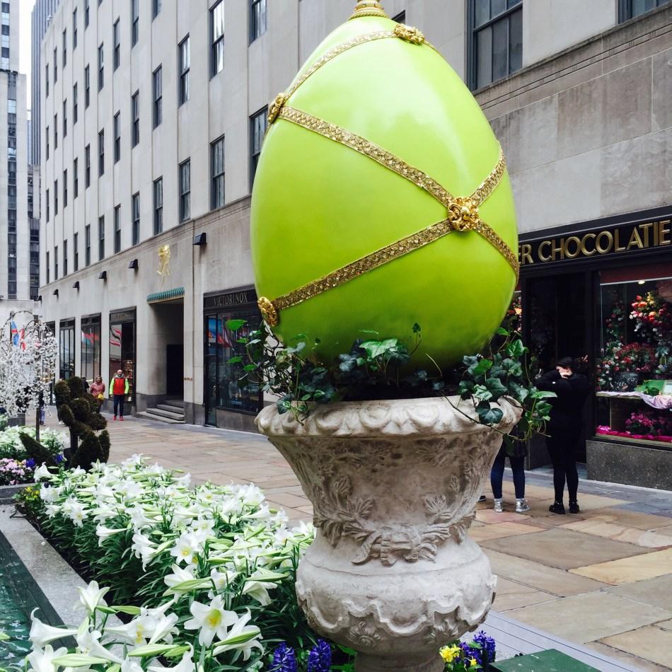 Green Fabergé Easter Egg