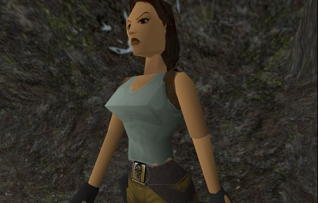 Lara Croft, Ledge Hanger: However Much She Weighs, She Can Lift It
