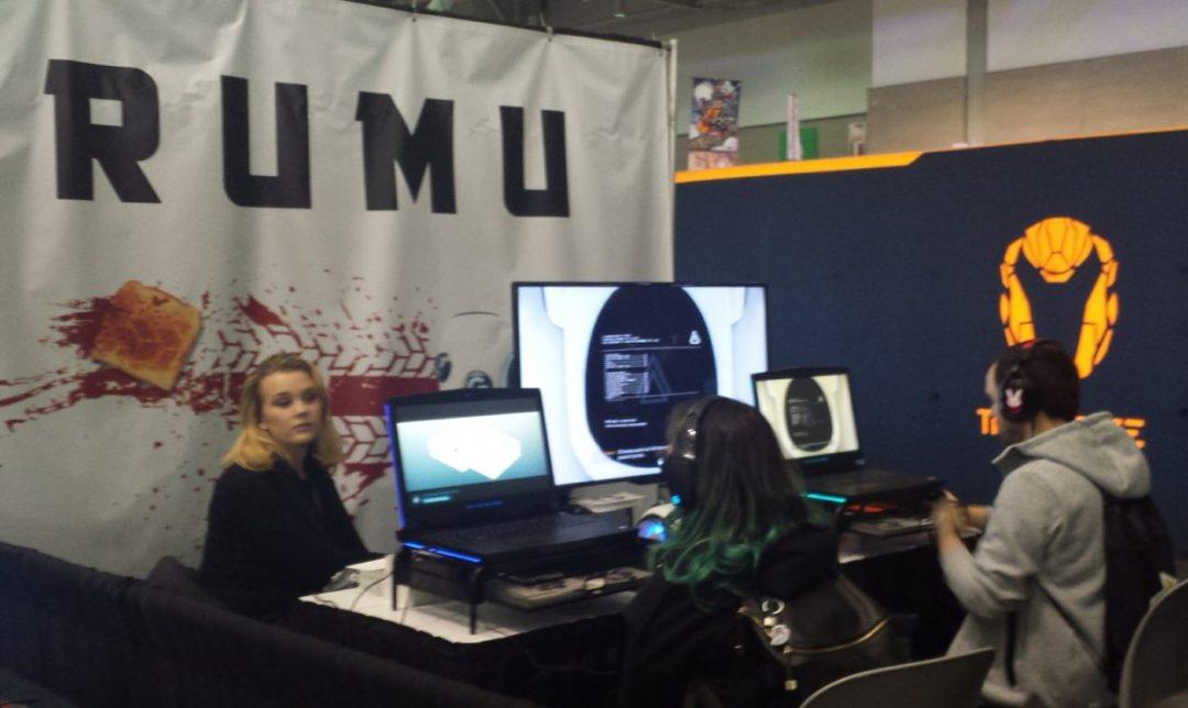 Rumu game developer, Ally McLean. Photo by Brenda Noiseux.