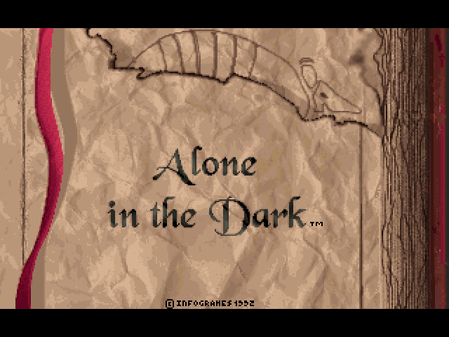 My First Game: Alone in the Dark (1992)
