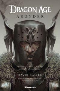 Cover of Asunder. Written by David Gaider, Tor Books, December 2011.