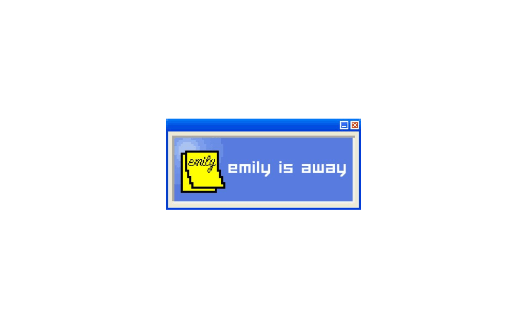 Revisiting the Conversations of 'Emily is Away'