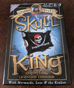 Photo of Grandpa Beck's Skull King Original Game + Legendary Expansion with Mermaids, Loot, & the Kraken. Skull King Legendary Expansion, Grandpa Beck's Games, 2018.