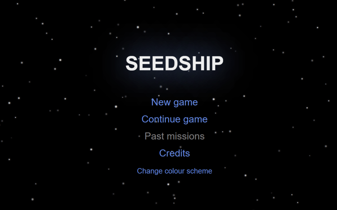 Sail the Nebulae: Seedship and Queer Escapism