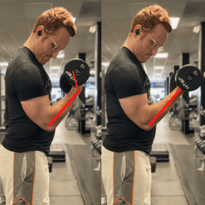 How to Feel Your Biceps