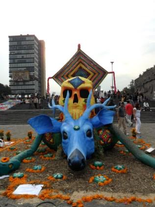 Città del Messico, Unam, Dia de Muertos