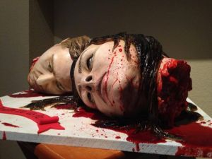 Severed Head Wedding Cake