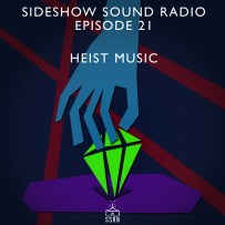 Heist Music Artwork for our Film Soundtrack Podcast