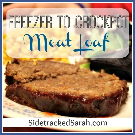 Freezer to Crockpot - meat loaf