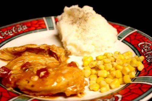 BBQ Chicken on Sidetracked Sarah