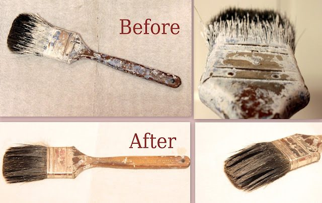 Clean Dried Paint Off of Paintbrushes?