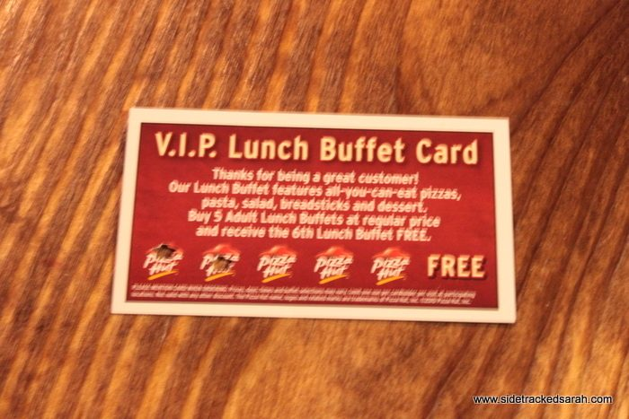 Extreme Couponing at Pizza Hut?
