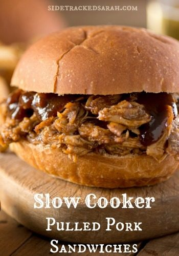 Slow Cooker Pulled Pork Sandwiches Recipes