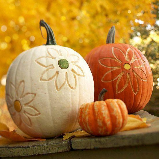 Scratched Surface Pumpkin