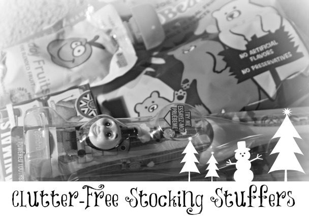 Simple Clutter-Free Stocking Stuffers
