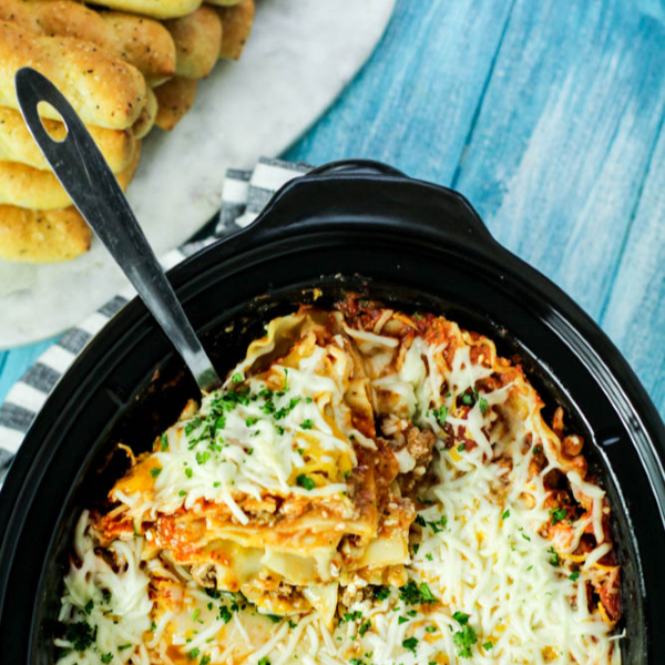 Cheesy & Delicious Crock Pot Lasagna Recipe