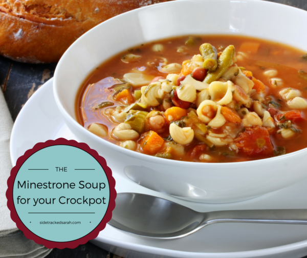 Minestrone Soup for your Crockpot