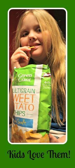 Kids Love Veggie Chips!