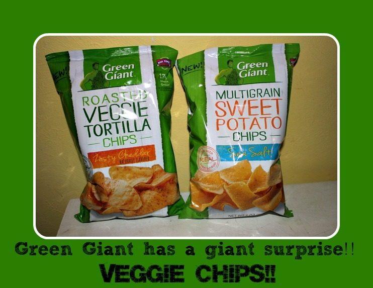 A Giant Surprise:  Veggie Chips