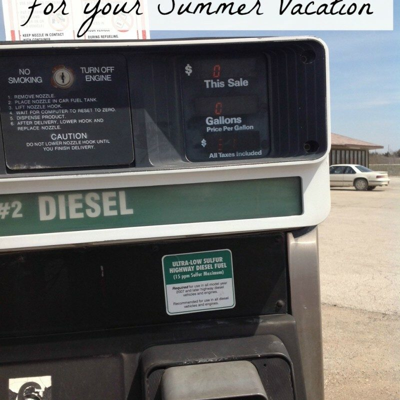 Gas Saving Tips – For Your Summer Vacation