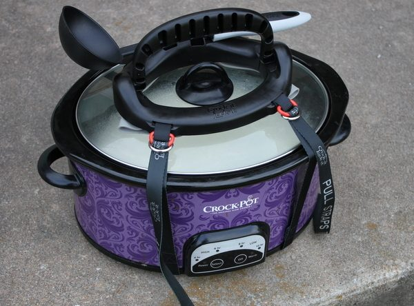 Crock-It Lock-It - Take Your Crockpot full of food anywhere with ease.