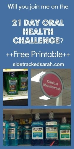 Join Me For a 21 Day Oral Health Challenge! + Free Printable