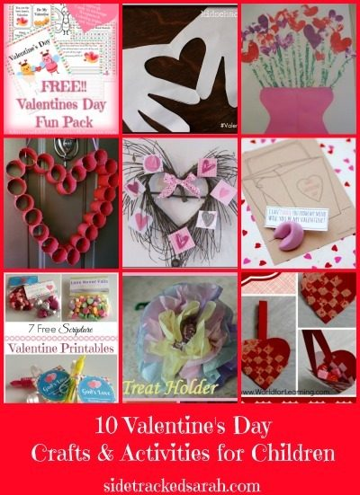 10 Valentine's Day Crafts You Can Do With Your Children