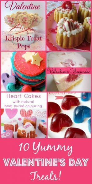 10 Valentine's Day Treats - Yummy, Yummy!