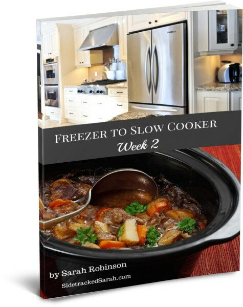 Freezer to Slow Cooker Ebook - Week 2