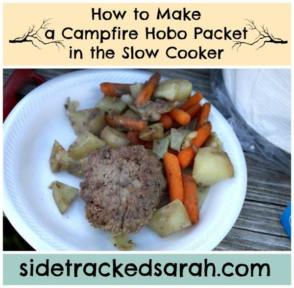 How to Make a Hobo Packet in the Slow Cooker