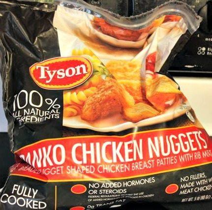 Tyson Panko Chicken Nuggets