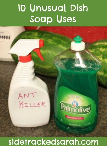 10 Unusual Dish Soap Uses