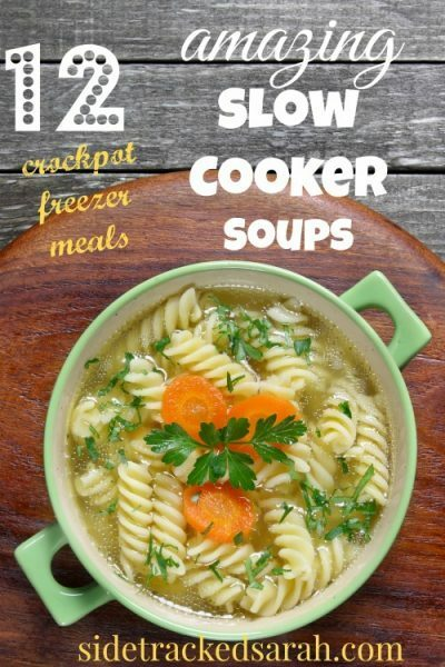 12 Slow Cooker Soups