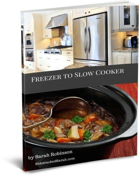 Freezer to Slow Cooker Blank Week