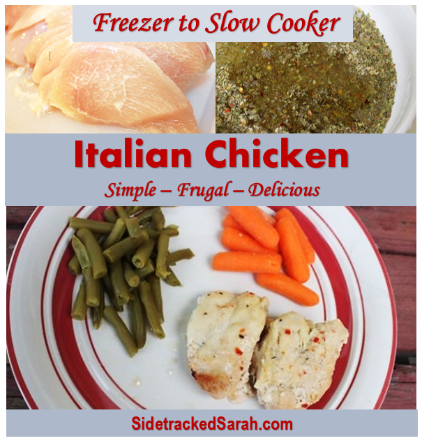 Italian Chicken: simple and delicious