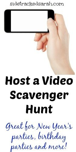 Video Scavenger Hunt Ideas