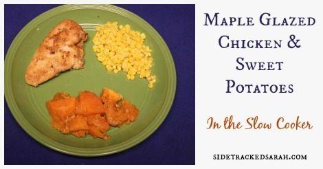 Maple Glazed Chicken & Sweet Potatoes