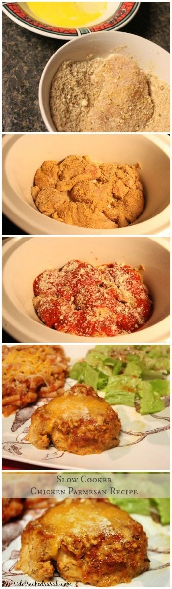 How to Make Chicken Parmesan in the Slow Cooker Crockpot