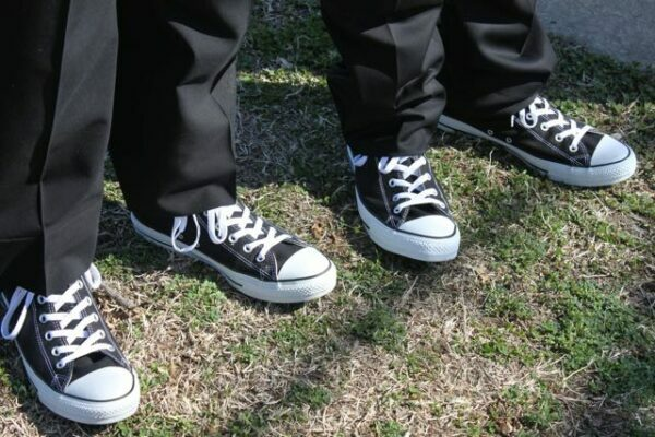 Converse at Prom