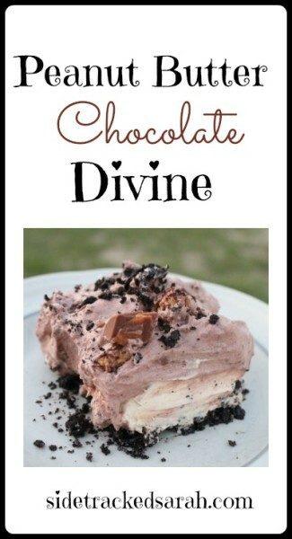 Peanut Butter Chocolate Divine Recipe