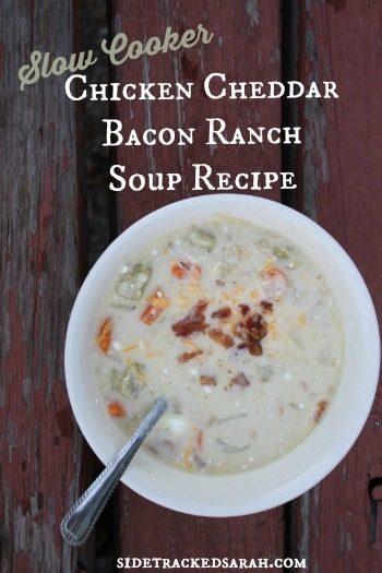 Chicken Cheddar Bacon Ranch Soup Recipe 2