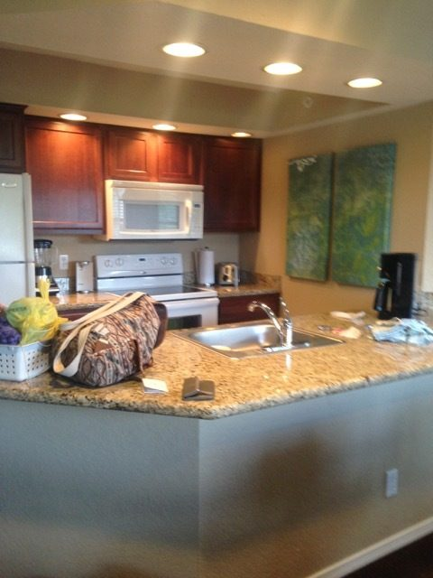 The Suites at Fall Creek Kitchen