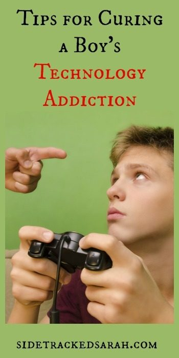 Tips for Curing a Boy's Technology Addiction 2