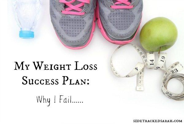 My Weight Loss Success Plan: Why I Fail
