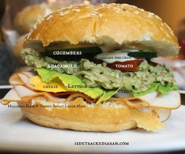 Hillshire Farms Sandwich 2