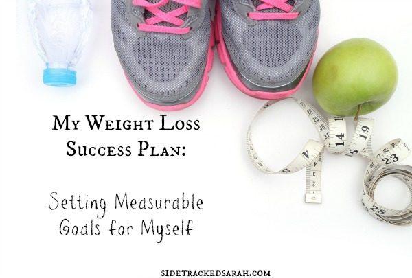 Weight Loss Success Plan:  Setting Measurable Goals